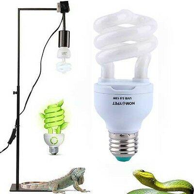 5.0 UVB 13W Reptile Light Bulb UV Lamp Vivarium Terrarium Tortoise ...