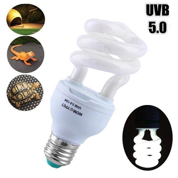 UVB 5.0 13W Ceramic Heat Emitter Ultraviolet Light Energy-Saving ...