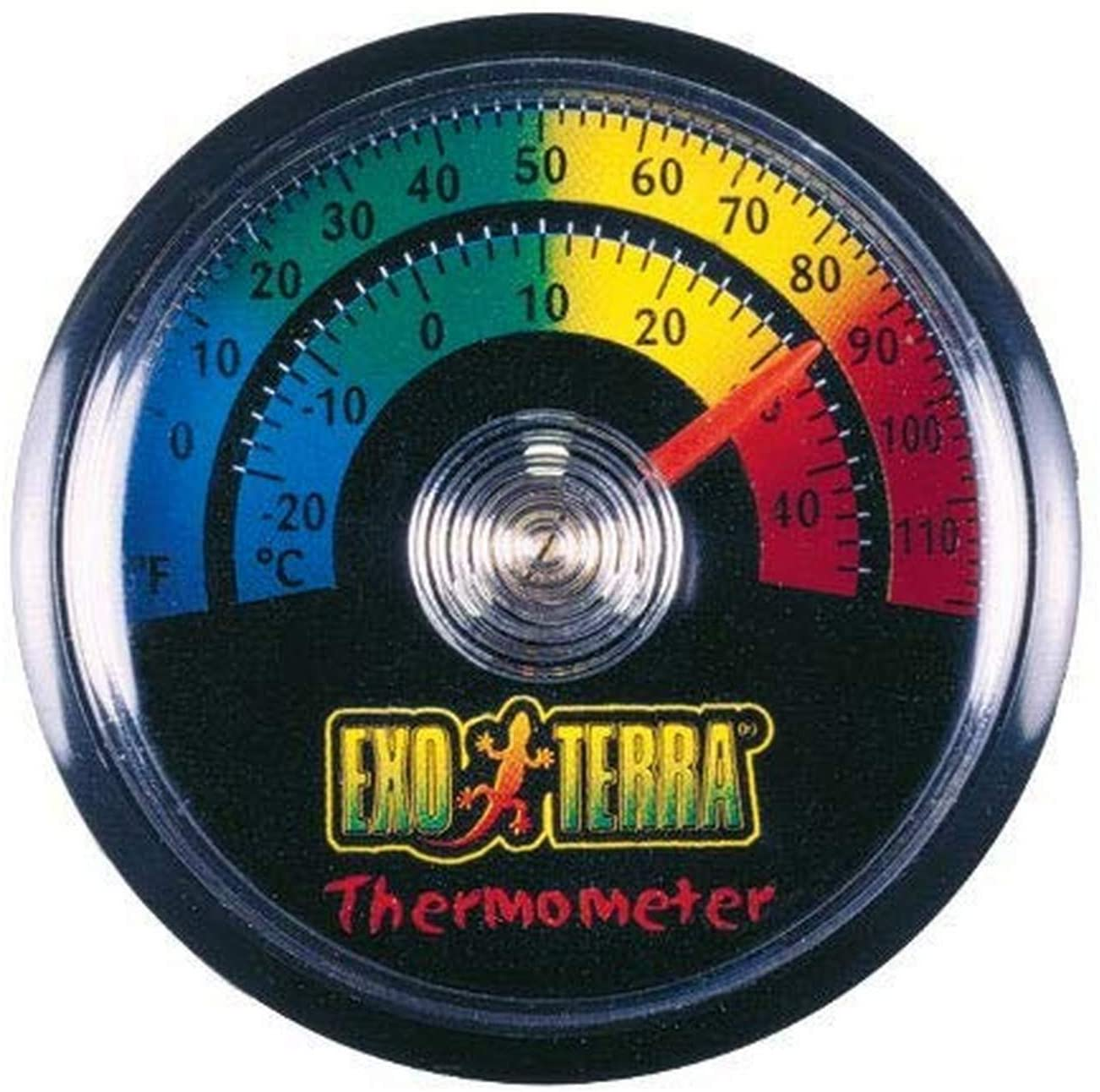 Amazon.com : Exo Terra Thermometer, Celsius and Fahrenheit ...