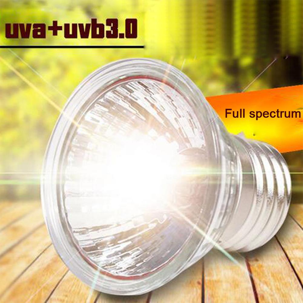 UVB 3.0 Reptile Basking Light Heat Lamp Heater UVB/UVA Halogen ...