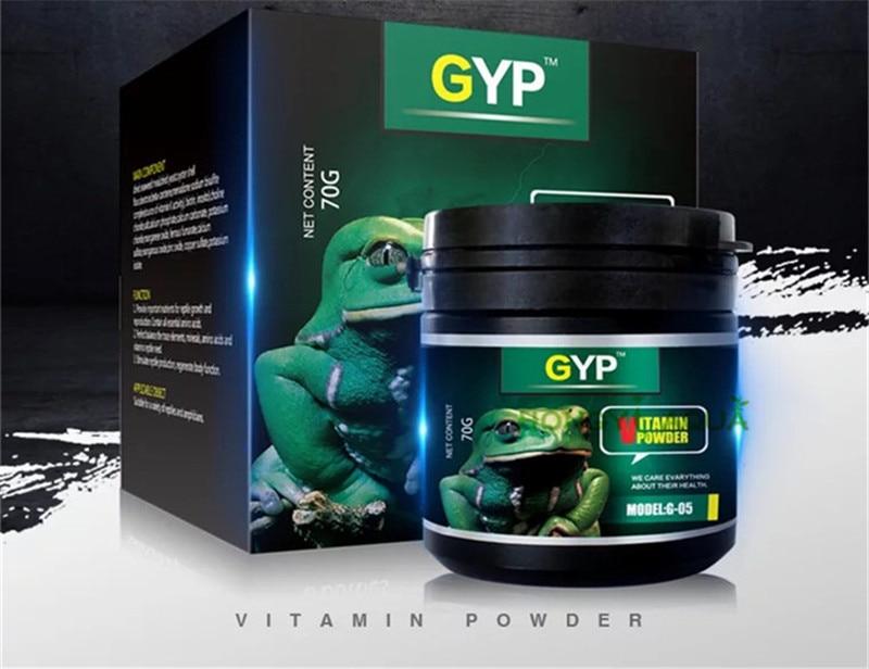 Terrestrial Turtle Calcium Powder 50g GYP vitamins 70g Reptile ...