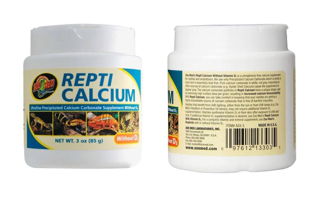 Zoo Med Repti Calcium without D3 Ultra Fine 3oz – Kwik Retail LLC