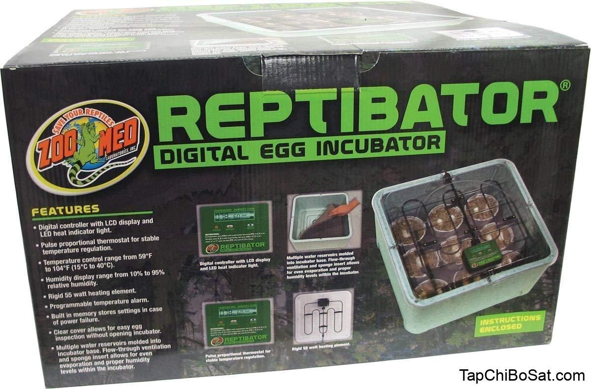 Kết quả hình ảnh cho Zoo Med ReptiBator Digital Reptile Egg Incubator