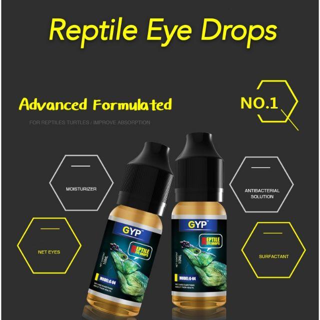 GYP reptile eye drop turtle tortoise clean eye advance formulated ...
