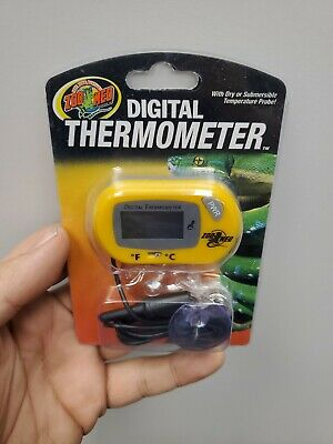 Zoo Med Digital Thermometer for Terrariums | eBay