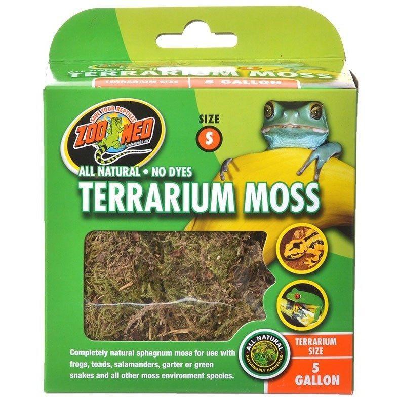 Reptile Flora & Moss - Zoo Med All Natural Terrarium Moss ...