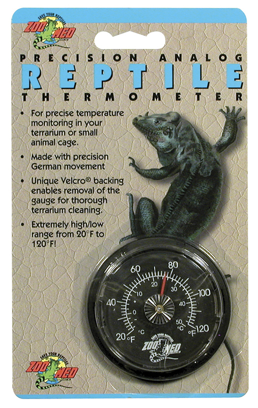 Zoo Med Analog Reptile Thermometer - MyTurtleStore.com