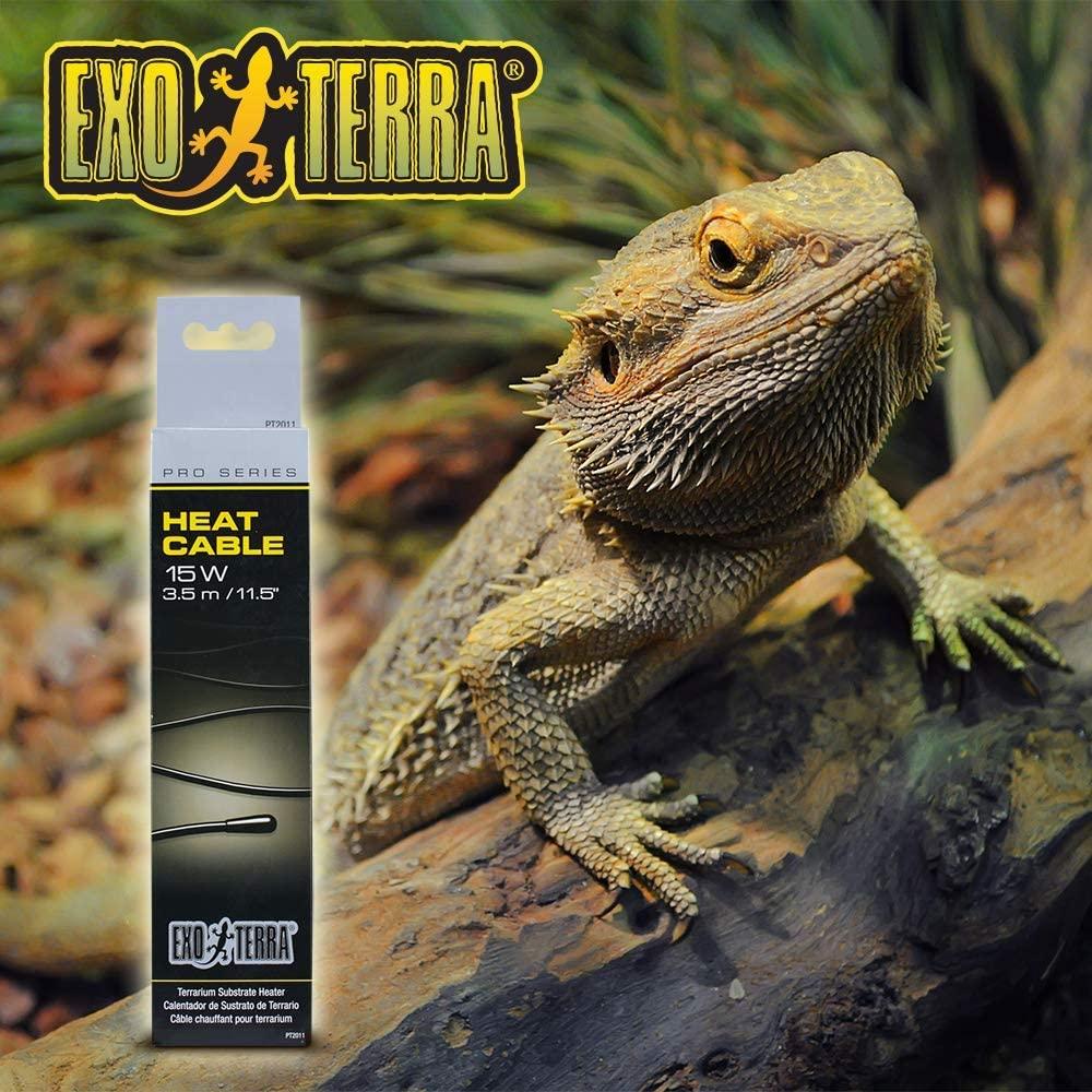 Amazon.com : Exo Terra Exo Terra Heat Cable, 15 W : Aquarium Heaters : Pet Supplies
