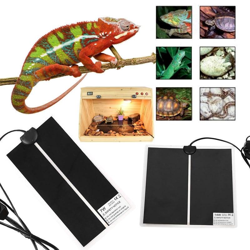 Reptile Heat Mat Incubator Pet Heating Pad Pet Reptile Vivarium ...