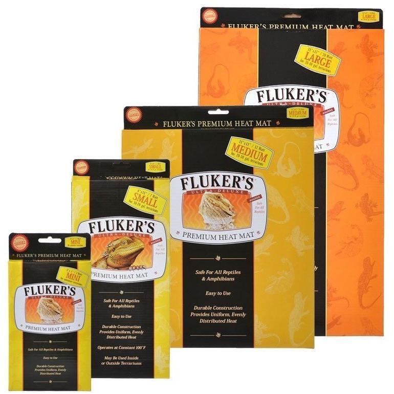 Reptile Heating UTH - Flukers Ultra Deluxe Premium Heat Mat - Reptiles  Lounge