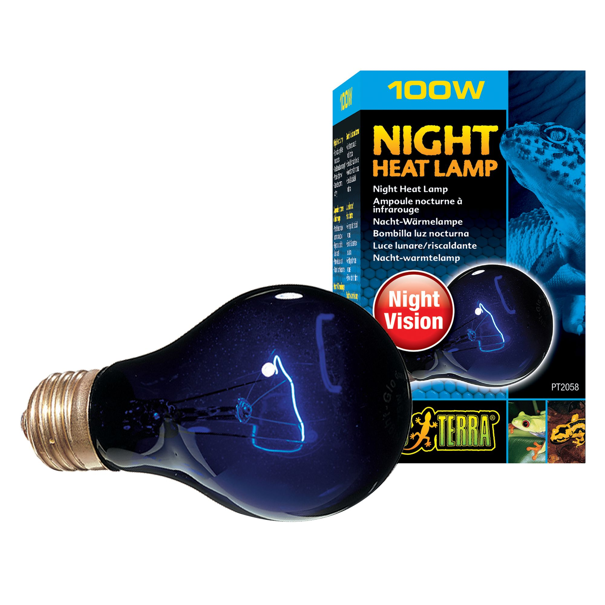 Exo Terra® Night Heat Lamp | reptile Bulbs & Lamps | PetSmart