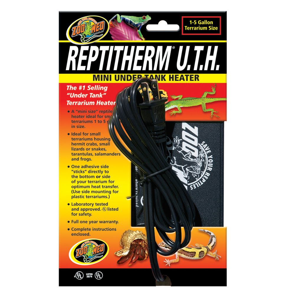 Zoo Med Repti Therm Reptile Under Tank Heater | reptile Heaters ...