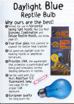 Robot Check   Zoo med, Bulb, Daylight bulbs