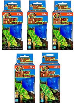 Zoo Med Daylight Blue Reptile Terrarium Light Bulb 25w - 150w Heat Lightbulb   eBay